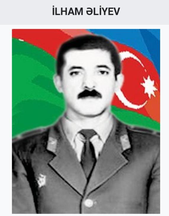 milli qəhrəman ilham əliyev