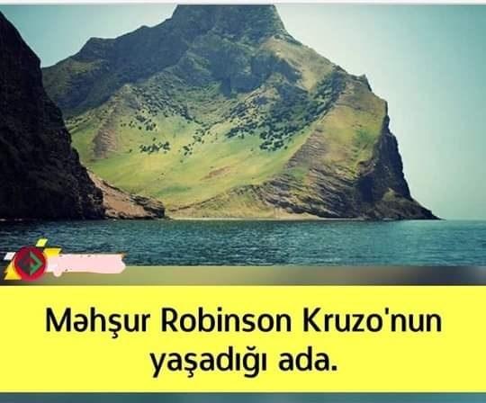 robinsonun yaşadığı ada