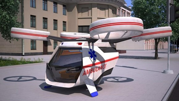 ambulans dron