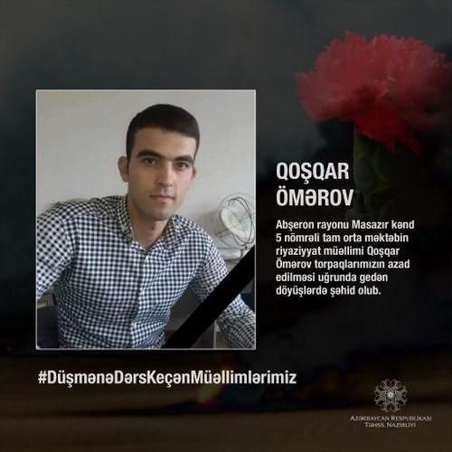 Qoşqar Ömərov