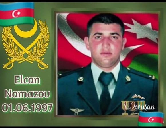 Şəhid Elcan Namazov!