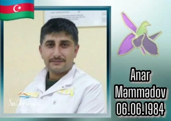 Şəhid Anar Məmmədov!